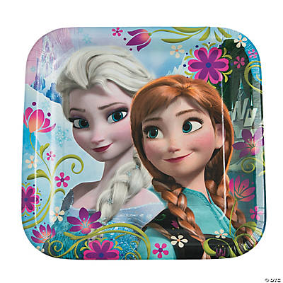 Disney's Frozen Dinner Plates