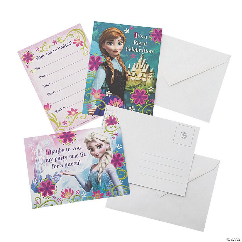 sc 1 st  Oriental Trading & Disney Frozen Invitations u0026 Thank You Cards