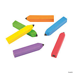 Pencil-Shaped Erasers