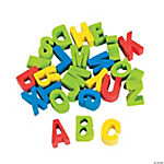 Mini ABC Erasers