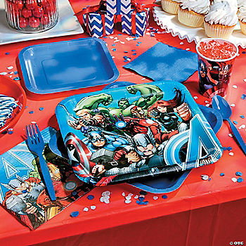 Avengers Assemble Basic Party Pack