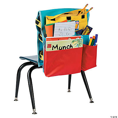 Deluxe classroom organizer chair cover storage teacher resources teaching supplies