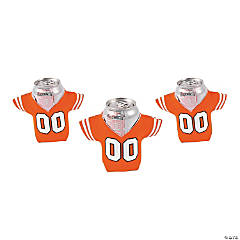 Orange Jersey Shaped Can Covers
