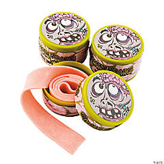 Zombie Brain Roll Tape Gum