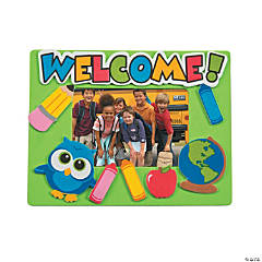 Welcome Owl Magnetic Picture Frame Craft Kit
