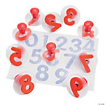 Nifty Knob Number Stampers