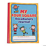 Four Square Vocabulary Journals