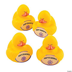 September Rubber Duckies