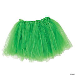 Green Tulle Tutu Skirt for Adults