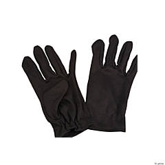 Short Black Gloves For Kids