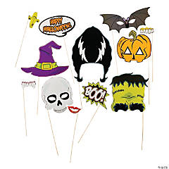 Halloween Stick Photo Booth Props