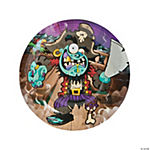 Zombie Pirate Dinner Plates