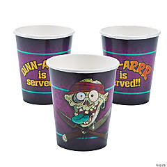Zombie Pirate Cups