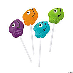 Fish Head Frosted Lollipops
