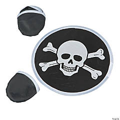Nylon Pirate Folding Flyers in Pouch