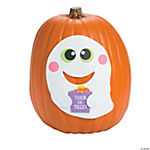 Ghost Pumpkin Decorating Craft Kit