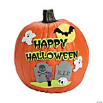 Happy Halloween Pumpkin Decorating Craft Kit