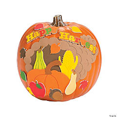 Happy Harvest Pumpkin Decorating Craft Kit