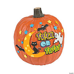Trick or Treat Pumpkin Decorating Craft Kit