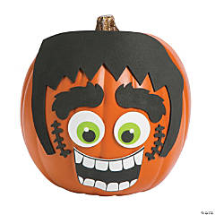 Green Monster Pumpkin Decorating Craft Kit