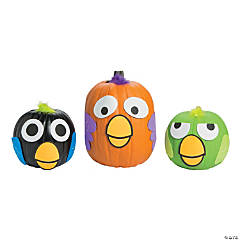 Crazy Bird Pumpkin Decorating Craft Kit