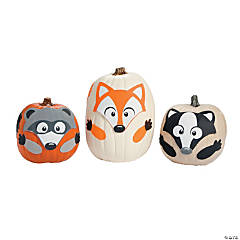 Fall Friends Pumpkin Decorating Craft Kit