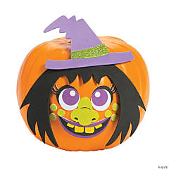 Witch Pumpkin Decorating Craft Kit