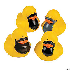 Bearded Rubber Duckies
