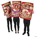 Big Top Terror Posters with Face Cutouts