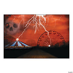 Big Top Terror Backdrop Banner