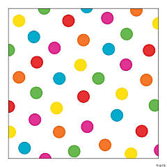 Bright Polka Dot Backdrop Banner