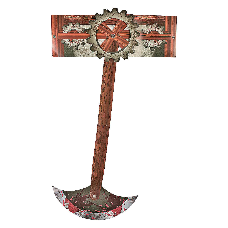 Pit & Pendulum Blade Cutouts, Cardboard Cutouts, Party Decorations ...