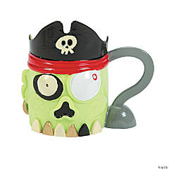 Zombie Pirate Mugs