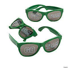 Go Team Green Sunglasses