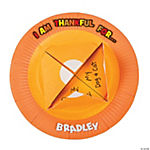 Paper Plate Thankful Pumpkin Pie Craft Kit
