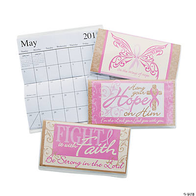 2015-2016 Pink Ribbon Religious Pocket Planners