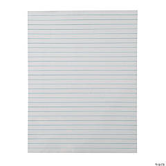 Magnetic Jumbo Dry Erase Lined Paper Charts