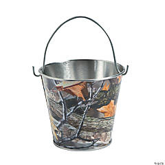 Metal Camouflage Pails