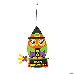 Witch Owl Sign Craft Kit