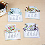 2015 Large-Print Magnetic Tea Cup Calendars