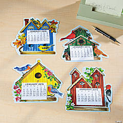 2015 Large-Print Magnetic Birdhouse Calendars