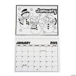2015 Color Your Own Calendar