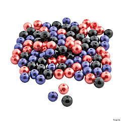 Halloween Pearl Bead Mix - 8mm