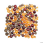 Fall Colors Round Bead Mix