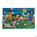 Giant Trick-or-Treat Sticker Scenes