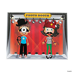 Costume Photo Booth Sticker Scenes