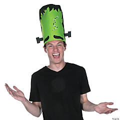 Tall Green Monster Hat