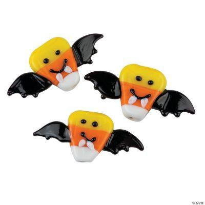Candy Corn Bat Beads
