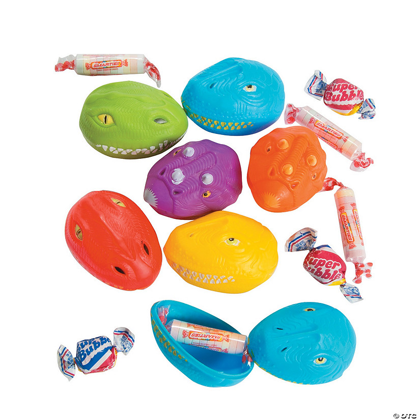 bee candy filled dinosaur plastic easter eggs discontinued