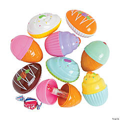 Bee® Candy-Filled Dessert Shop Easter Eggs